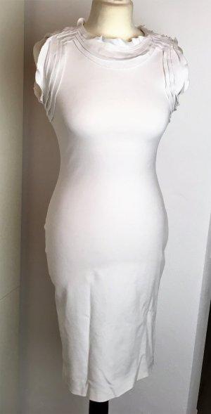 Diane von Furstenberg Stretch jurk wit Gemengd weefsel