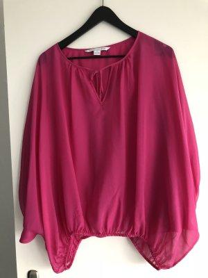 Diane von Furstenberg Blouse roze Zijde