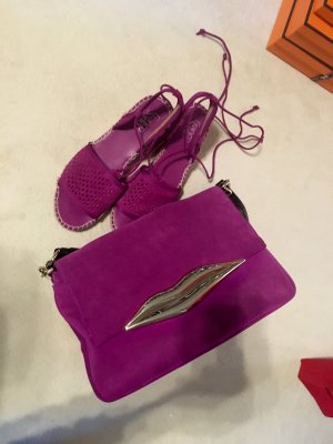 Diane von Furstenberg Carry Bag violet