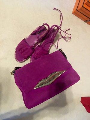 Diane von Furstenberg Carry Bag violet