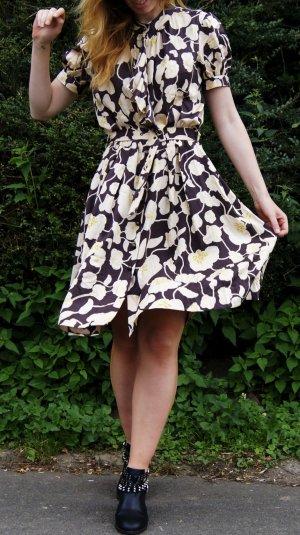 Diane von Fürstenberg Vintage Retro Damenkleid Sommerkleid aus Seide Top Zustand