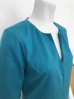 Diane von Furstenberg Vestido de lana azul cadete
