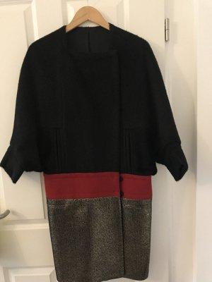 Diane von Fürstenberg Wollmantel Wintermantel coat Gr.2 34/xs