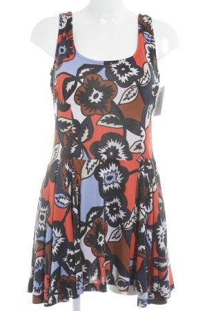 Diane von Furstenberg A-Linien Kleid Blumenmuster Casual-Look