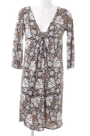Diane von Furstenberg A-Linien Kleid florales Muster Elegant