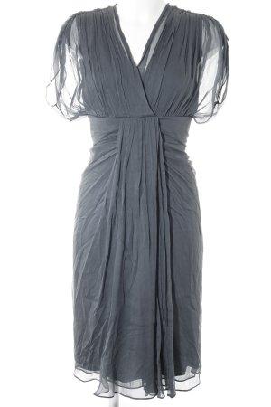 Diane von Furstenberg Abendkleid graublau Elegant