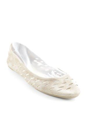 Diane von Furstenberg Ballerinas with Toecap beige casual look