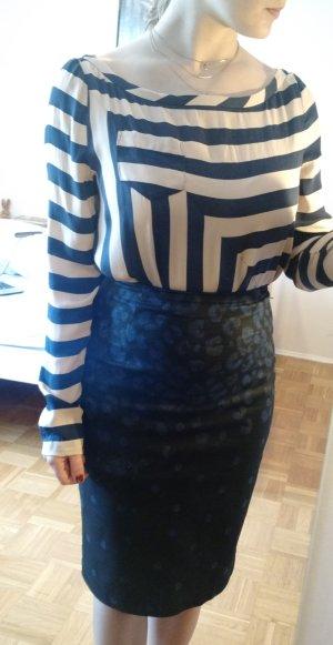 Diane von Furstenberg Bluse 40 42 L (12) Seide DvF Oberteil silk luxus designer