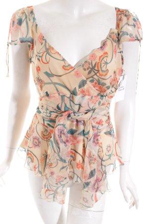 Diane von Furstenberg Bluse florales Muster klassischer Stil