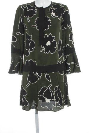 Diane von Furstenberg Blusenkleid Blumenmuster extravaganter Stil