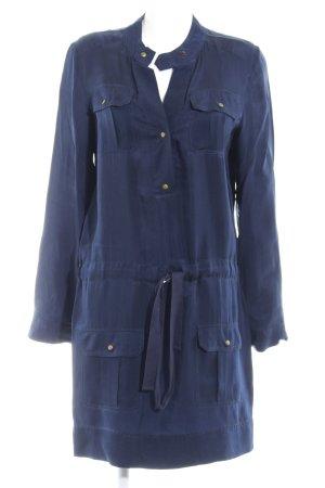 Diane von Furstenberg Blusenkleid dunkelblau Casual-Look
