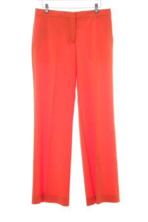 Diane von Furstenberg Bundfaltenhose orange klassischer Stil