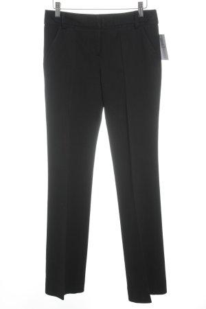 Diane von Furstenberg Bundfaltenhose schwarz Business-Look
