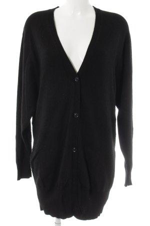 Diane von Furstenberg Cardigan schwarz Casual-Look