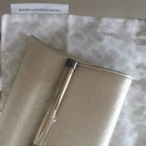 Diane von Furstenberg Clutch Metallic Schimmer
