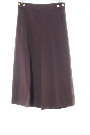 Diane von Furstenberg Pantalone culotte marrone stile casual
