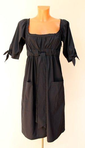 Diane von Furstenberg Empirekleid US10 40 dunkelblau wie neu