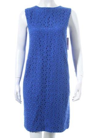 Diane von Furstenberg Etuikleid blau klassischer Stil