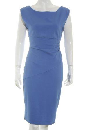 Diane von Furstenberg Etuikleid stahlblau Elegant