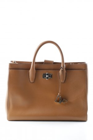 Diane von Furstenberg Carry Bag light brown business style