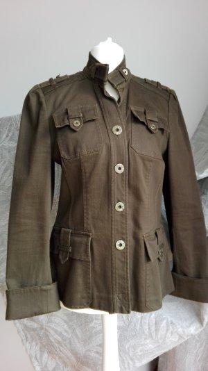Diane von Furstenberg Jacke khaki Gr. 36