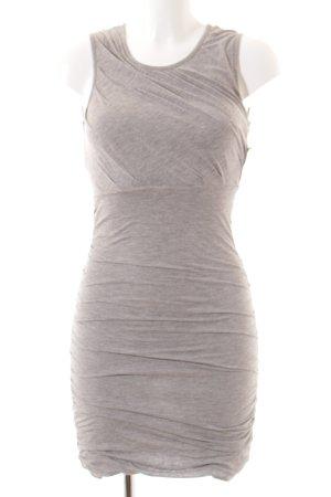 Diane von Furstenberg Jerseykleid hellgrau meliert Casual-Look