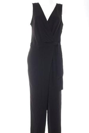Diane von Furstenberg Jumpsuit schwarz Business-Look