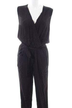 Diane von Furstenberg Jumpsuit schwarz Elegant