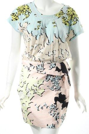 Diane von Furstenberg Kleid abstraktes Muster