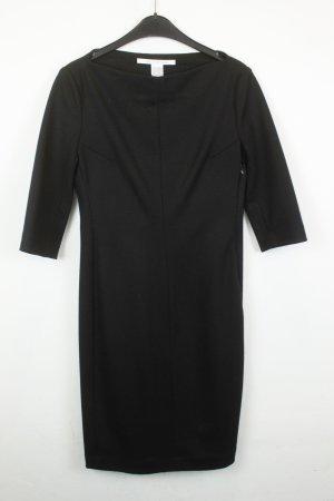 Diane von Furstenberg Kleid Midikleid Gr. US 6 / deut 36 schwarz
