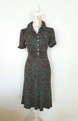 Diane von furstenberg Kleid Polly Anna polo shirtdress  gr XS 4 34