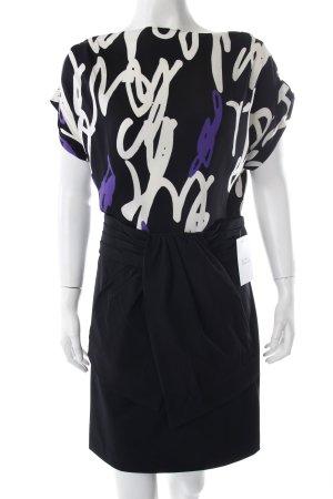 Diane von Furstenberg Kleid Schwarz Weiß