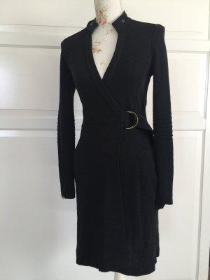 ❤️ DIANE VON FURSTENBERG Kleid Wickelkleid Strick Gr. 2