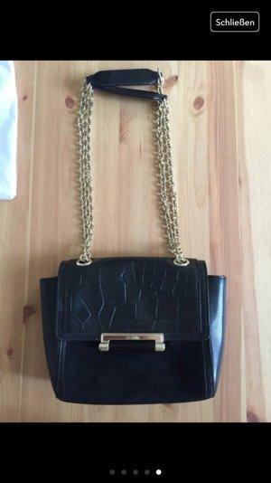 Diane von Furstenberg kleine Tasche schwarz