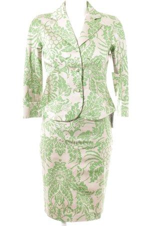Diane von Furstenberg Kostüm rosé-wiesengrün florales Muster