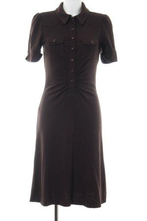 Diane von Furstenberg Kurzarmkleid braun Elegant