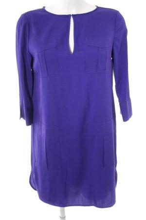 Diane von Furstenberg Kurzarmkleid blauviolett Elegant
