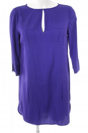 Diane von Furstenberg Abito a maniche corte blu-viola elegante