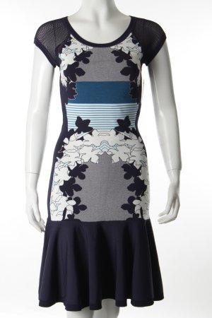 Diane von Furstenberg Kurzarmkleid Blumenmuster klassischer Stil