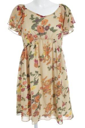 Diane von Furstenberg Kurzarmkleid florales Muster Elegant