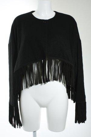 Diane von Furstenberg Kurzjacke schwarz Boho-Look