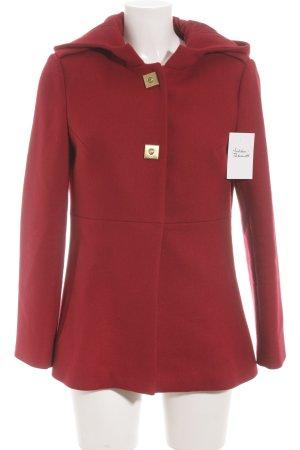 Diane von Furstenberg Cappotto corto carminio stile casual