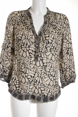 Diane von Furstenberg Langarm-Bluse florales Muster Elegant