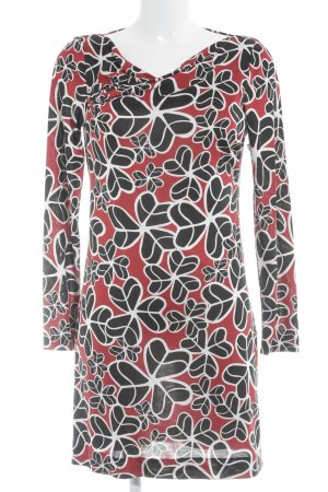 Diane von Furstenberg Langarmkleid abstraktes Muster Casual-Look