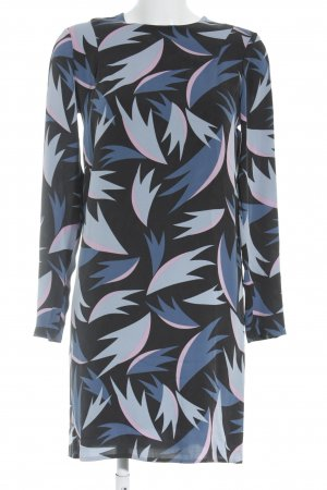 Diane von Furstenberg Longsleeve Dress abstract pattern simple style