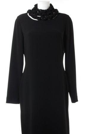 Diane von Furstenberg Langarmkleid schwarz Elegant