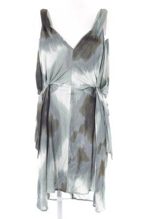 Diane von Furstenberg Midikleid abstrakter Druck Boho-Look