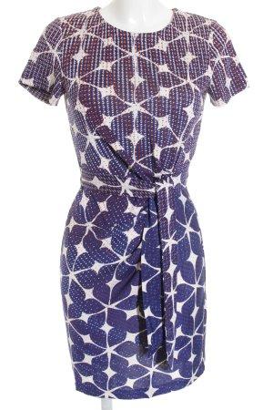 Diane von Furstenberg Midikleid abstraktes Muster Elegant