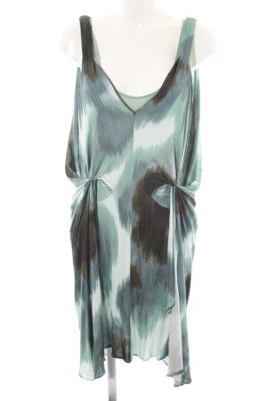 Diane von Furstenberg Midikleid abstraktes Muster Retro-Look