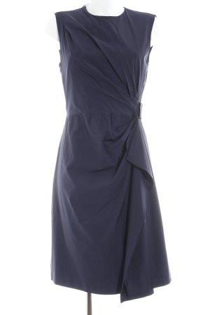 Diane von Furstenberg Midikleid braunviolett schlichter Stil